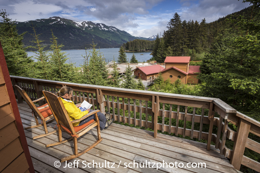 Tutka Bay Lodge  Alaska  Summer