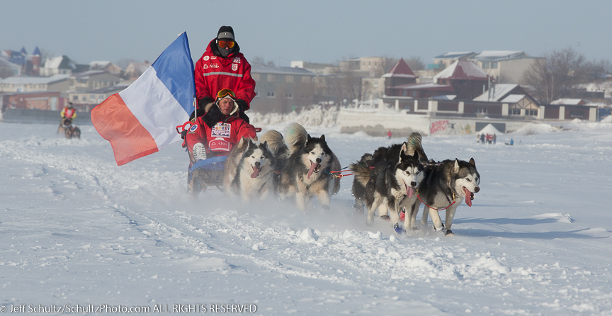 One of the many images I'll be showing and talking about from my time photographing the 2014 Volga Quest Sled Dog Race in Russia.