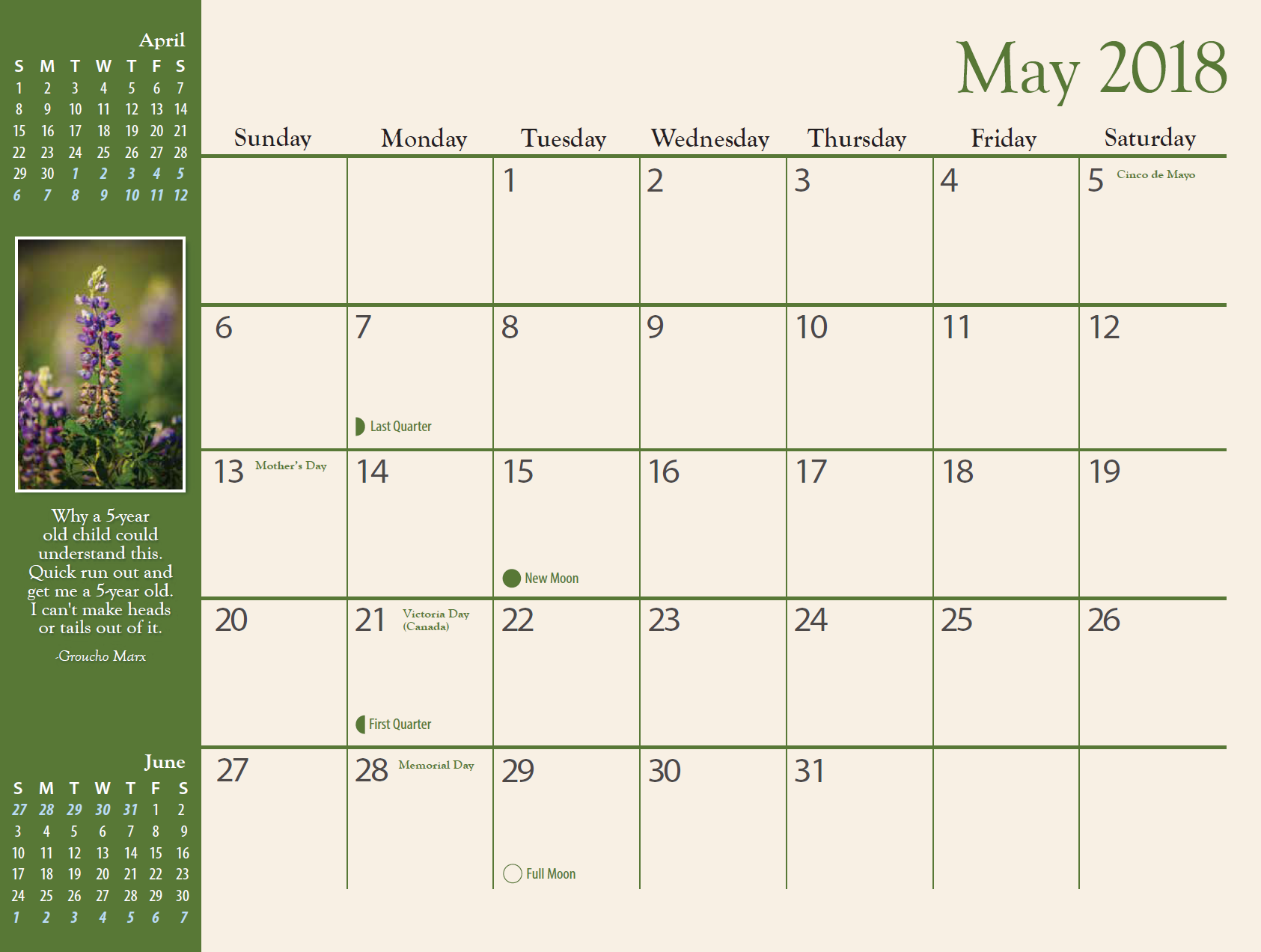 May Calendar Book : Alaska calendar jeff schultz photography