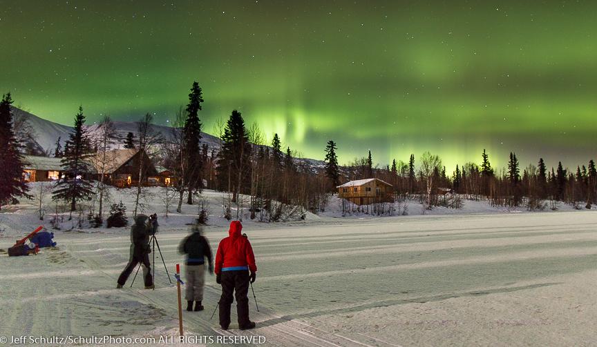 Northern Lights 300 Sled Dog Race Photo Workshop 2015