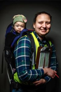 Faces of Iditarod- Melissa (Owens) Stewart